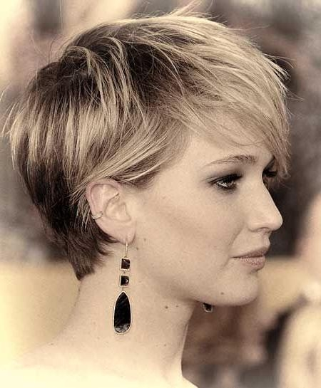Best 25+ Feminine Pixie Cuts Ideas On Pinterest | Short Feminine Within Short Haircuts For Big Noses (View 10 of 20)