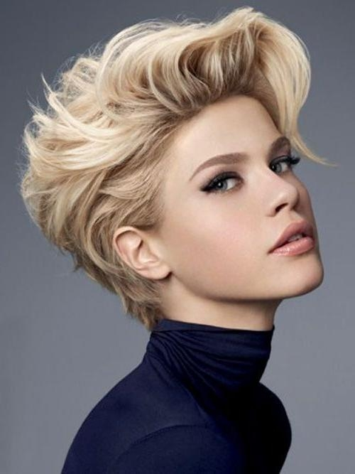 Best 25+ Feminine Short Hair Ideas On Pinterest | Long Pixie Pertaining To Feminine Short Hairstyles For Women (View 6 of 20)
