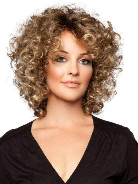 Best 25+ Fine Curly Hairstyles Ideas On Pinterest | Fine Curly For Short Hairstyles For Curly Fine Hair (View 2 of 20)