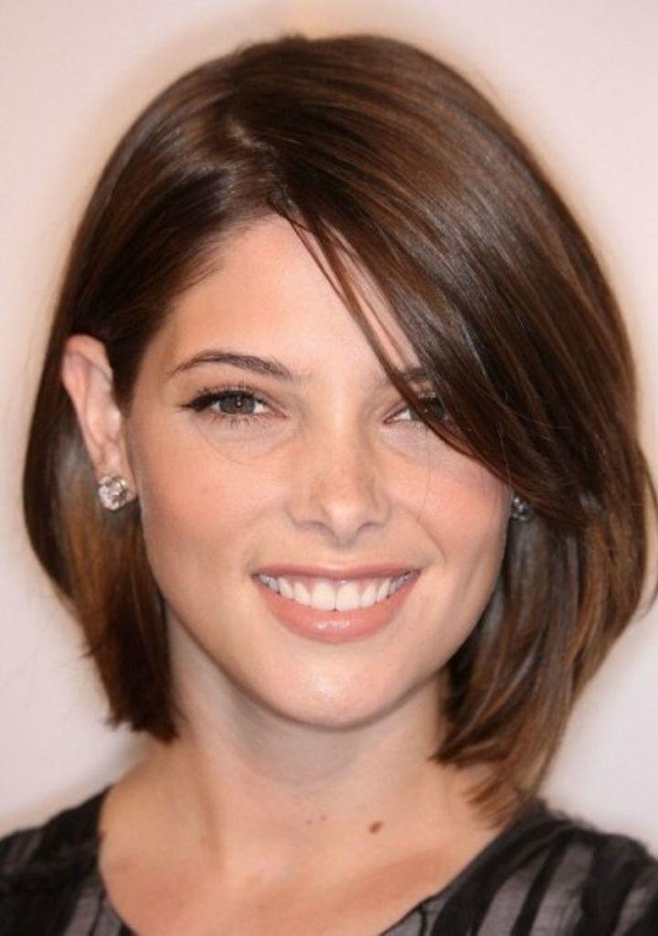 Best 25+ Haircuts For Fat Faces Ideas On Pinterest | Short For Short Haircuts For Big Round Face (View 15 of 20)