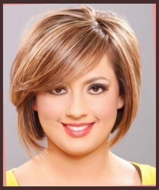 Best 25+ Haircuts For Fat Faces Ideas On Pinterest | Short For Short Haircuts For Big Round Face (View 9 of 20)