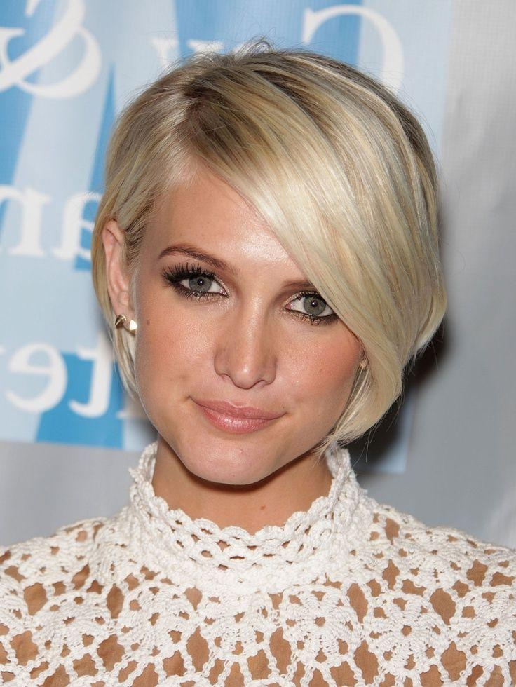 Best 25+ Hairstyles For Oblong Faces Ideas On Pinterest | Oval Within Short Haircuts On Long Faces (View 2 of 20)