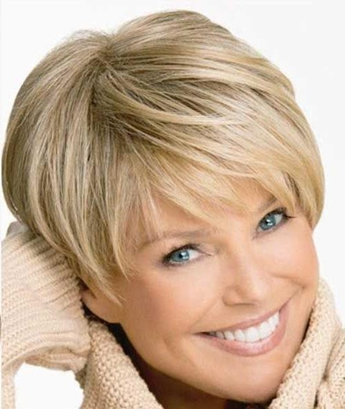 Best 25+ Hairstyles For Older Women Ideas On Pinterest | Older Throughout Short Hairstyles For Older Women (View 14 of 20)