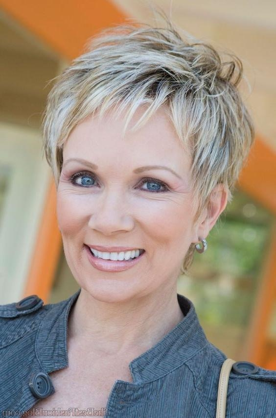 Best 25+ Hairstyles For Older Women Ideas On Pinterest | Short Regarding Short Hairstyles For Mature Woman (View 13 of 20)