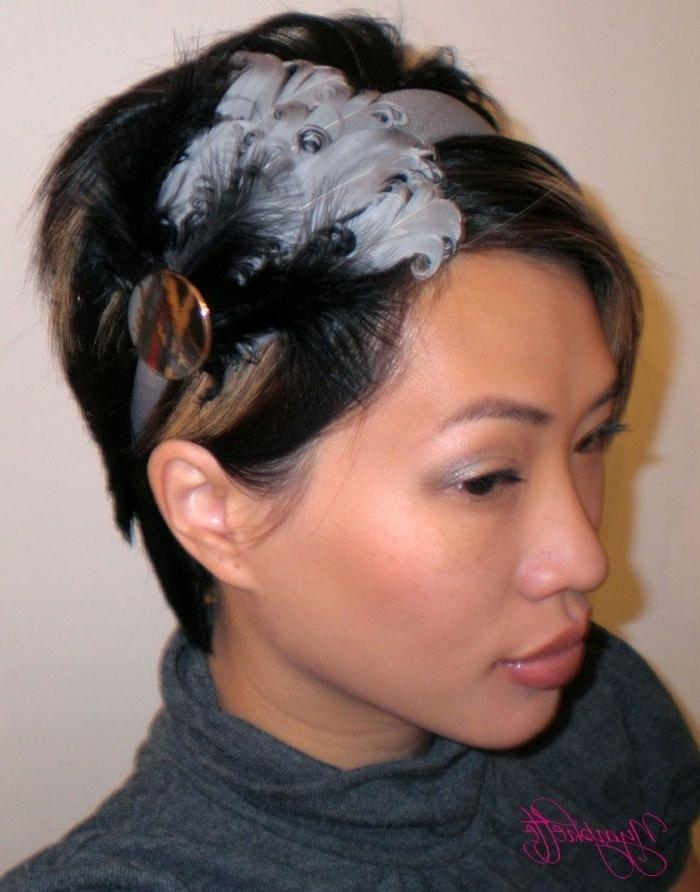 Best 25+ Headband Short Hair Ideas On Pinterest   Headbands For Throughout Short Hairstyles With Headbands (View 10 of 20)