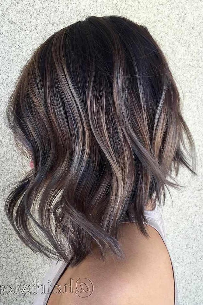 Best 25+ Highlights Short Hair Ideas On Pinterest | Bayalage Bob For Short Hairstyles And Highlights (View 12 of 20)