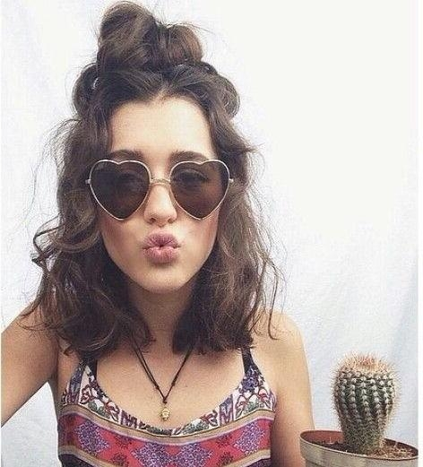 Featured Photo of Hippie Short Hairstyles