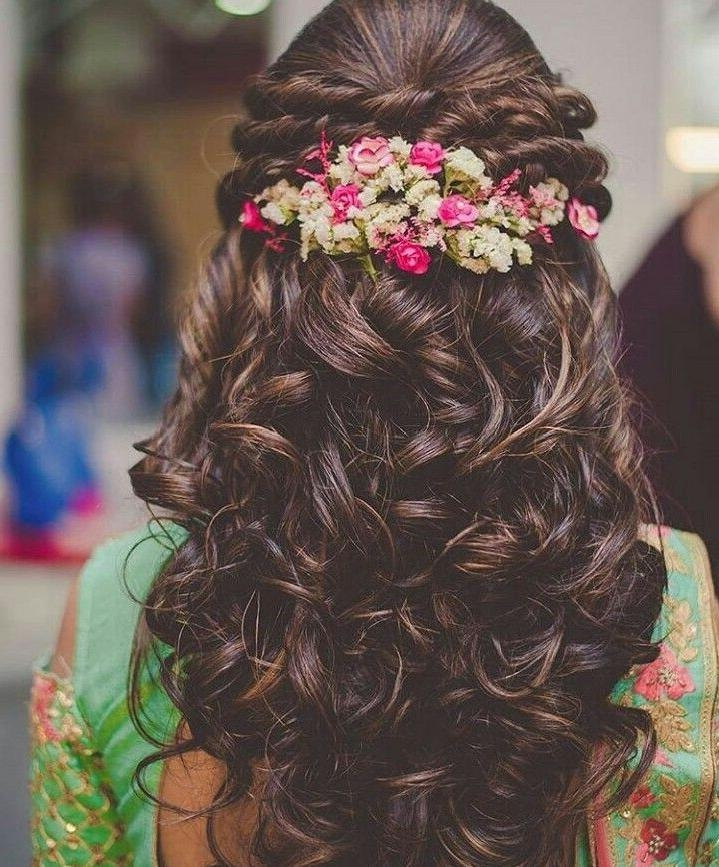 Best 25+ Indian Wedding Hairstyles Ideas On Pinterest | Indian Inside Short Hairstyles For Indian Wedding (View 7 of 20)