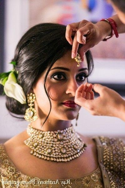 Best 25+ Indian Wedding Hairstyles Ideas On Pinterest | Indian Pertaining To Short Hairstyles For Indian Wedding (View 5 of 20)