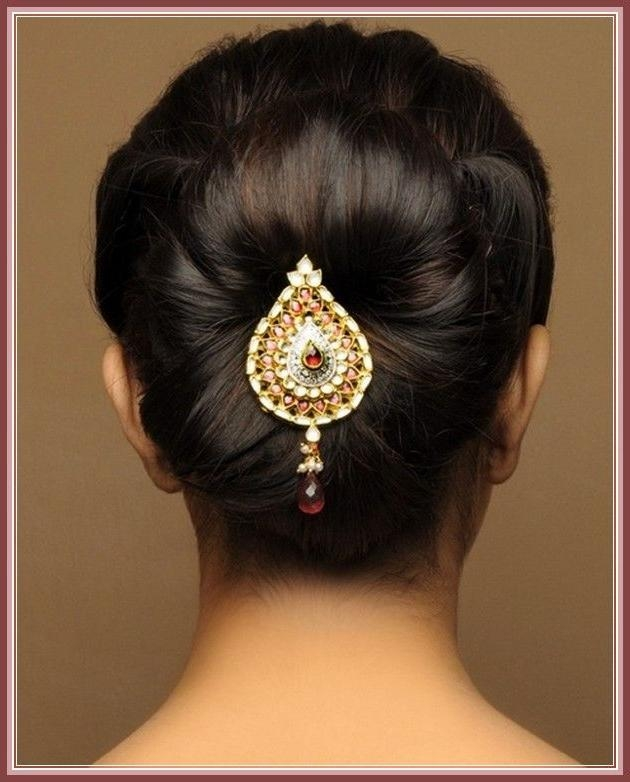 Best 25+ Indian Wedding Hairstyles Ideas On Pinterest | Indian Regarding Short Hairstyles For Indian Wedding (View 10 of 20)
