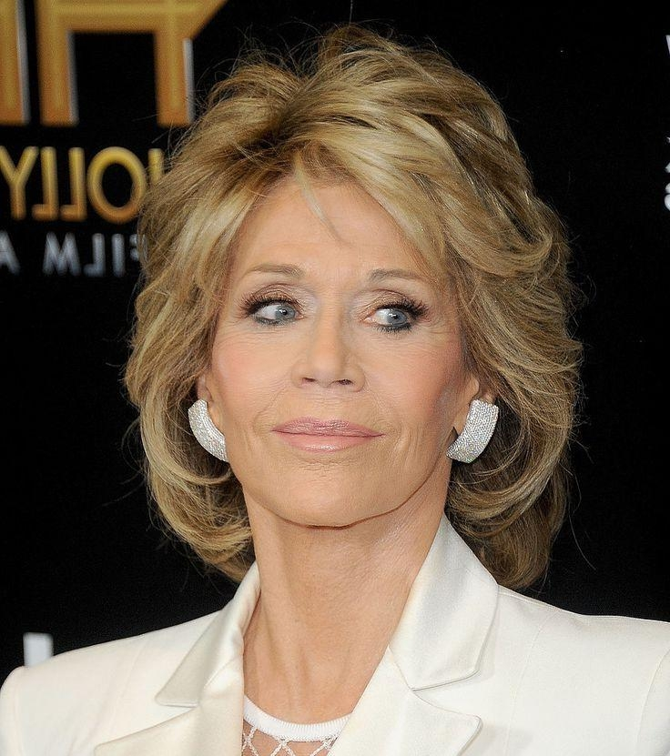 Best 25+ Jane Fonda Hairstyles Ideas On Pinterest | Jane Fonda Within Short Hairstyles Swept Off The Face (View 11 of 20)
