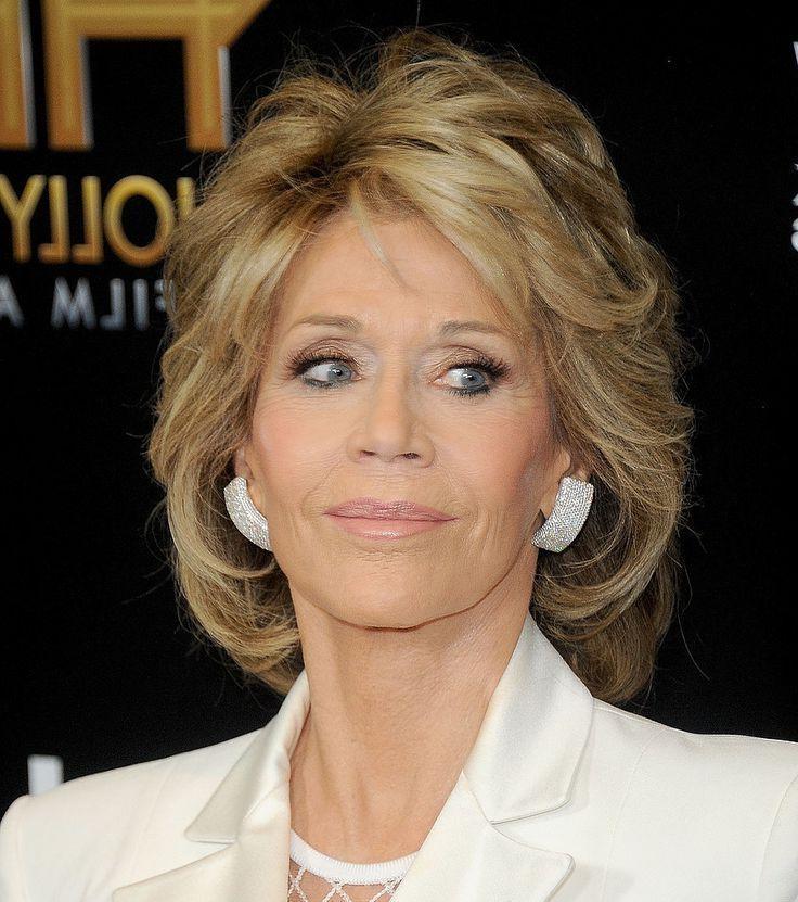 Best 25+ Jane Fonda Hairstyles Ideas On Pinterest | Jane Fonda Within Short Hairstyles Swept Off The Face (View 8 of 20)