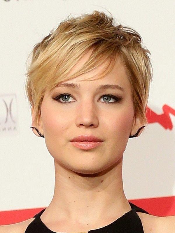 Best 25+ Jennifer Lawrence Pixie Ideas On Pinterest | Jennifer Intended For Jennifer Lawrence Short Haircuts (View 8 of 20)