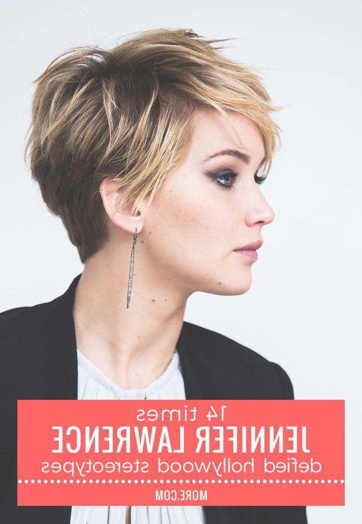 Best 25+ Jennifer Lawrence Short Hair Ideas On Pinterest Pertaining To Jennifer Lawrence Short Haircuts (View 9 of 20)