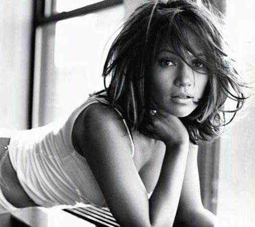 Best 25+ Jennifer Lopez Short Hair Ideas On Pinterest | Jlo Short For Jennifer Lopez Short Haircuts (View 9 of 20)