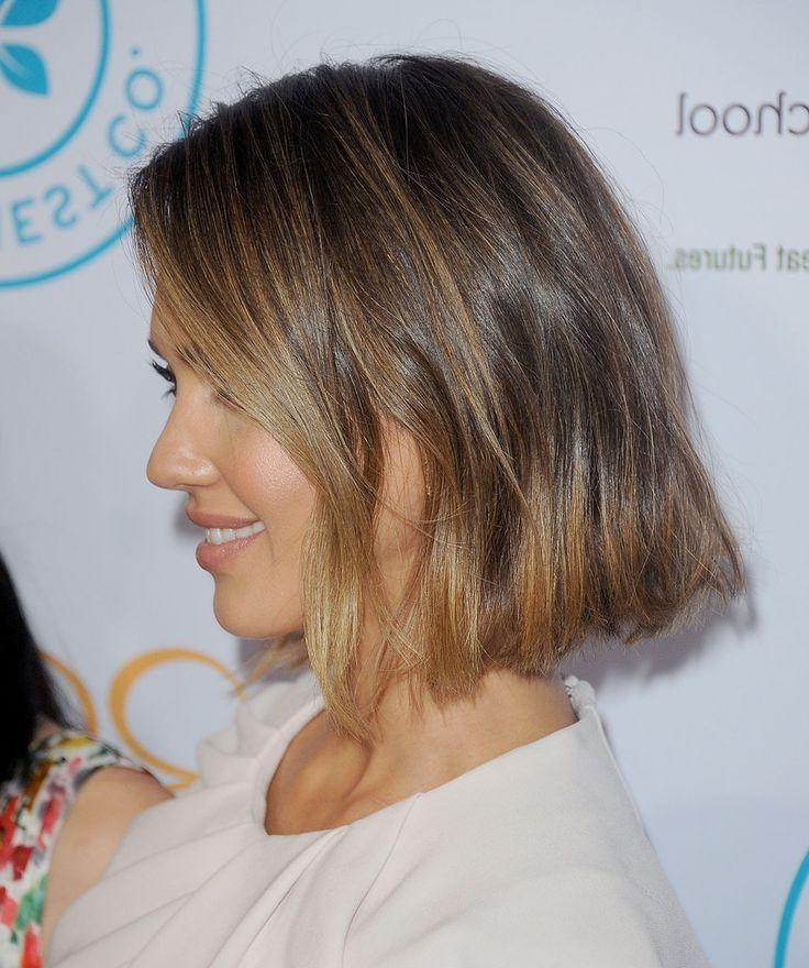 Best 25+ Jessica Alba Bob Ideas On Pinterest | Jessica Alba Short Inside Jessica Alba Short Hairstyles (View 3 of 20)