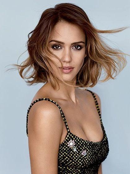 Best 25+ Jessica Alba Bob Ideas On Pinterest | Jessica Alba Short With Regard To Jessica Alba Short Hairstyles (View 15 of 20)