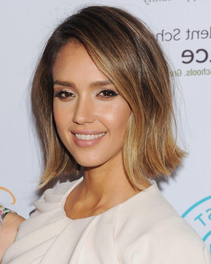 Best 25+ Jessica Alba Bob Ideas On Pinterest | Jessica Alba Short Within Jessica Alba Short Haircuts (View 2 of 20)