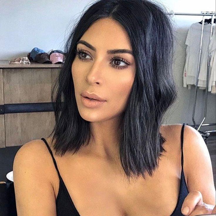 Best 25+ Kim Kardashian Haircut Ideas On Pinterest | Blonde Hair Throughout Kim Kardashian Short Haircuts (View 5 of 20)