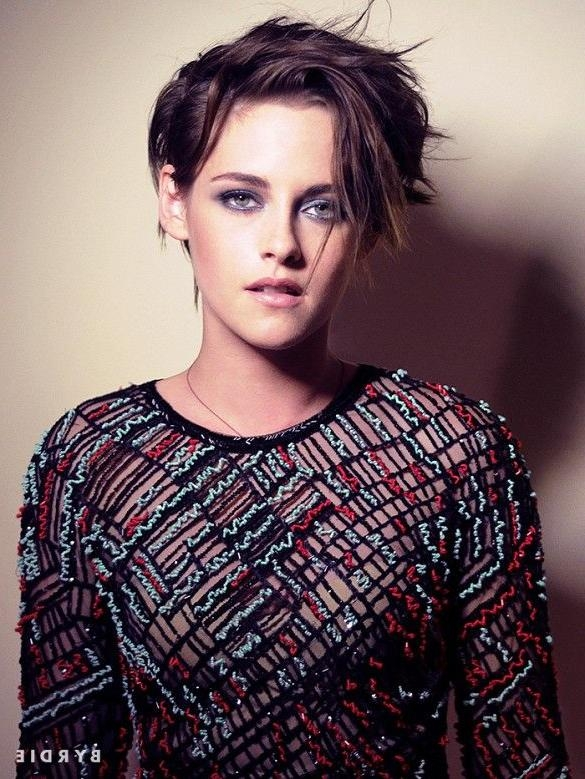 Best 25+ Kristen Stewart Short Hair Ideas On Pinterest | Kristen For Kristen Stewart Short Hairstyles (View 3 of 20)