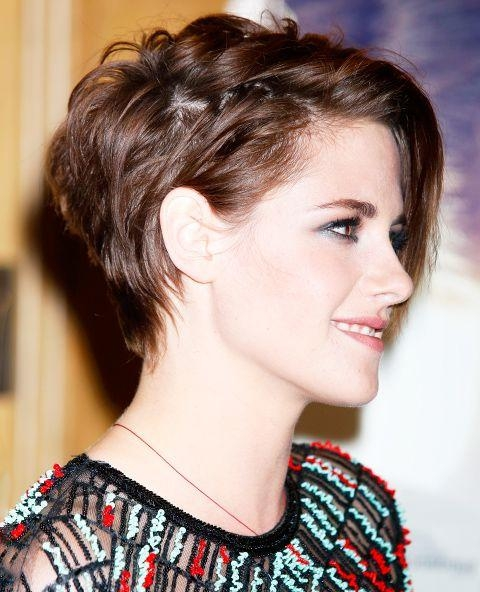 Best 25+ Kristen Stewart Short Hair Ideas On Pinterest | Kristen In Kristen Stewart Short Hairstyles (View 5 of 20)