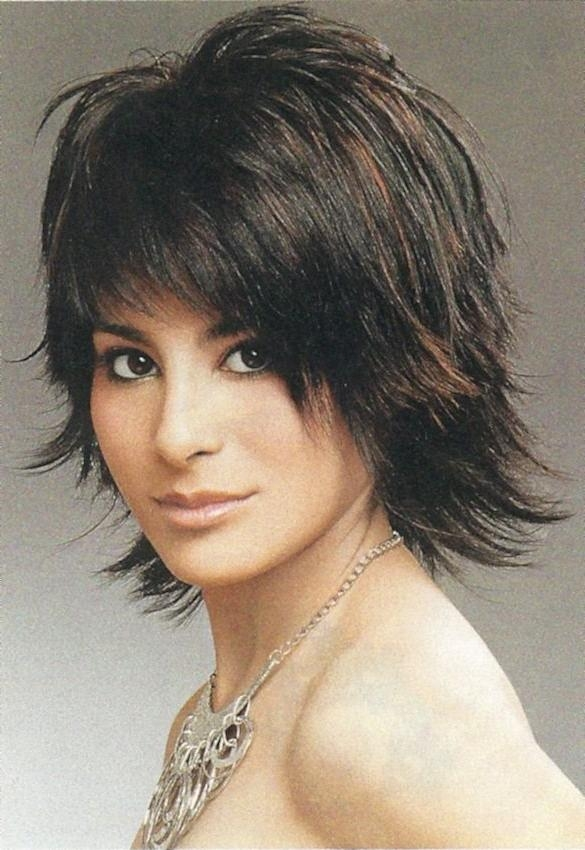 Best 25+ Medium Shag Haircuts Ideas On Pinterest | Medium Shag For Cute Choppy Shaggy Short Haircuts (View 7 of 20)