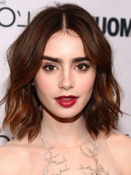 Best 25+ Middle Part Hair Ideas On Pinterest | Middle Parting Throughout Center Part Short Hairstyles (View 3 of 20)