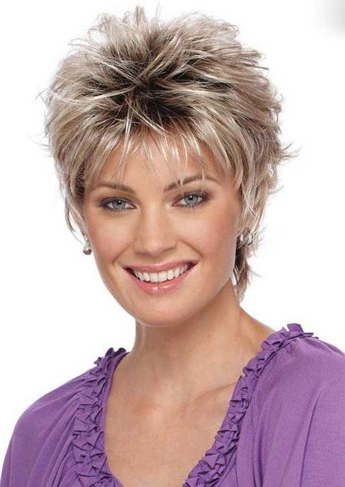 Best 25+ Over 40 Hairstyles Ideas On Pinterest | Hairstyles For With Short Haircuts Styles For Women Over (View 15 of 20)