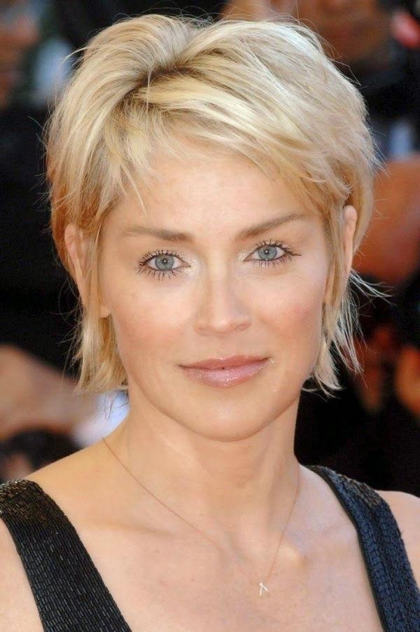 Best 25+ Pixie Haircuts Ideas On Pinterest | Pixie Cuts, Short Pertaining To Short Hairstyles Swept Off The Face (View 13 of 20)