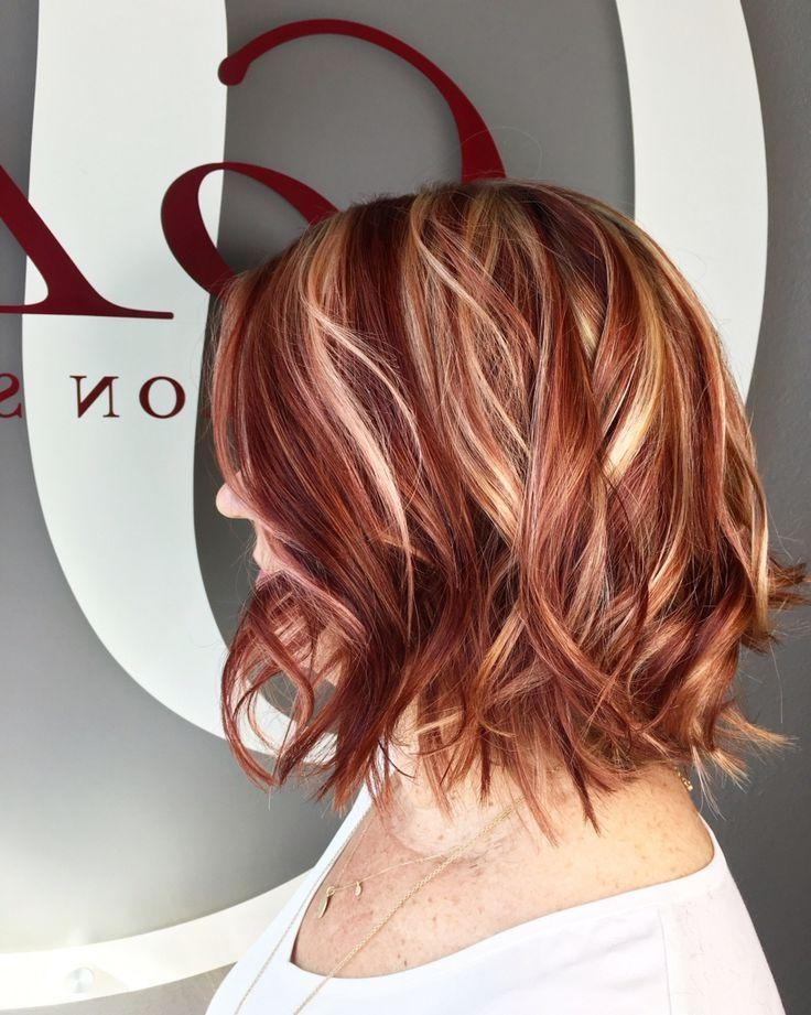Best 25+ Red Blonde Highlights Ideas On Pinterest | Fall Hair In Short Haircuts With Red And Blonde Highlights (View 8 of 20)