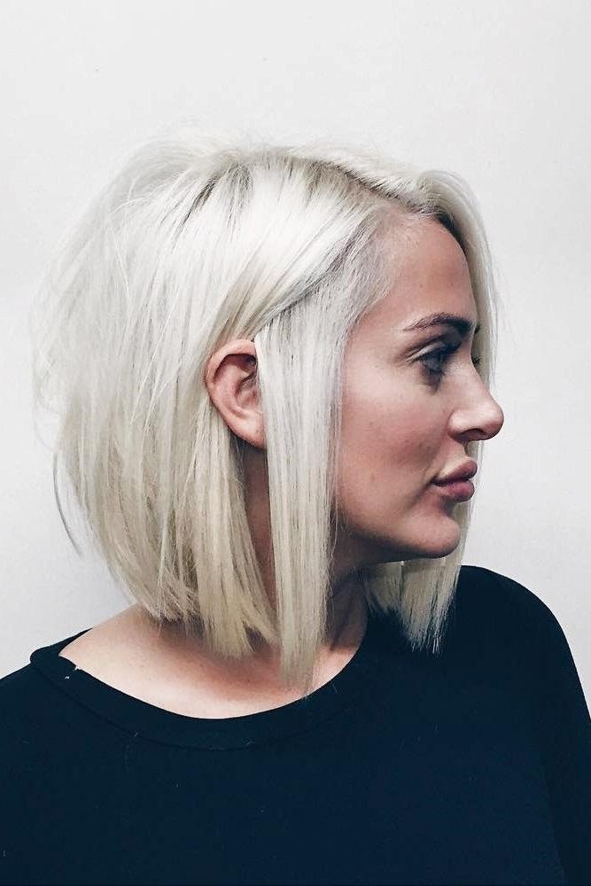 Best 25+ Round Face Short Hair Ideas On Pinterest   Short Hair In Short Hairstyles With Bangs For Round Face (View 17 of 20)