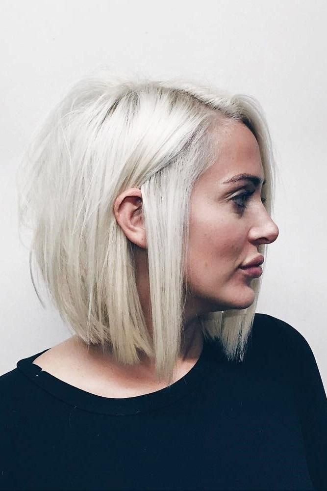 Best 25+ Round Face Short Hair Ideas On Pinterest | Short Pertaining To Short Haircuts For Big Face (View 13 of 20)