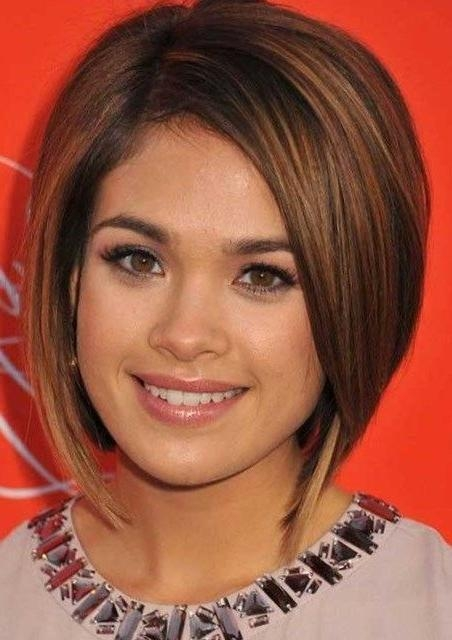 Best 25+ Round Face Short Hair Ideas On Pinterest | Short With Regard To Trendy Short Haircuts For Round Faces (View 10 of 20)