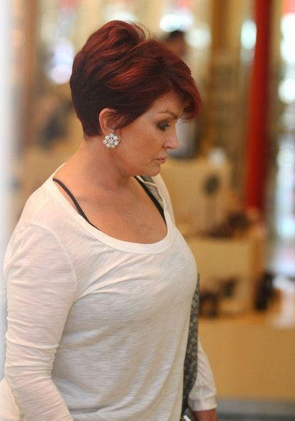 Best 25+ Sharon Osbourne Hair Ideas On Pinterest | Sharon Osbourne In Short Haircuts For Studs (View 15 of 20)