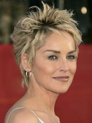 Best 25+ Sharon Stone Hairstyles Ideas On Pinterest | Sharon Stone For Sharon Stone Short Haircuts (View 2 of 20)