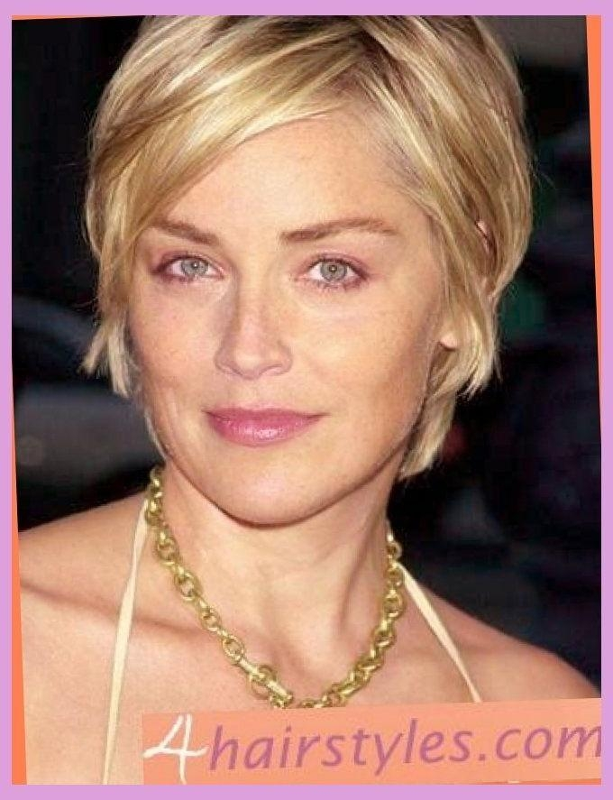 Best 25+ Sharon Stone Hairstyles Ideas On Pinterest | Sharon Stone With Sharon Stone Short Haircuts (View 7 of 20)