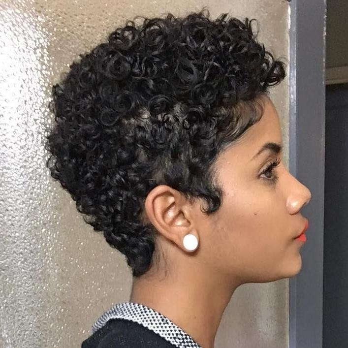 Best 25+ Short African American Hairstyles Ideas On Pinterest Within Short Haircuts Styles For Black Hair (View 8 of 20)
