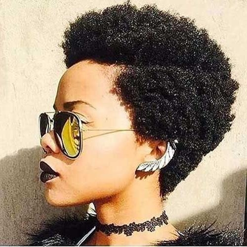 Photo Gallery Of Short Haircuts For Black Women Natural Hair