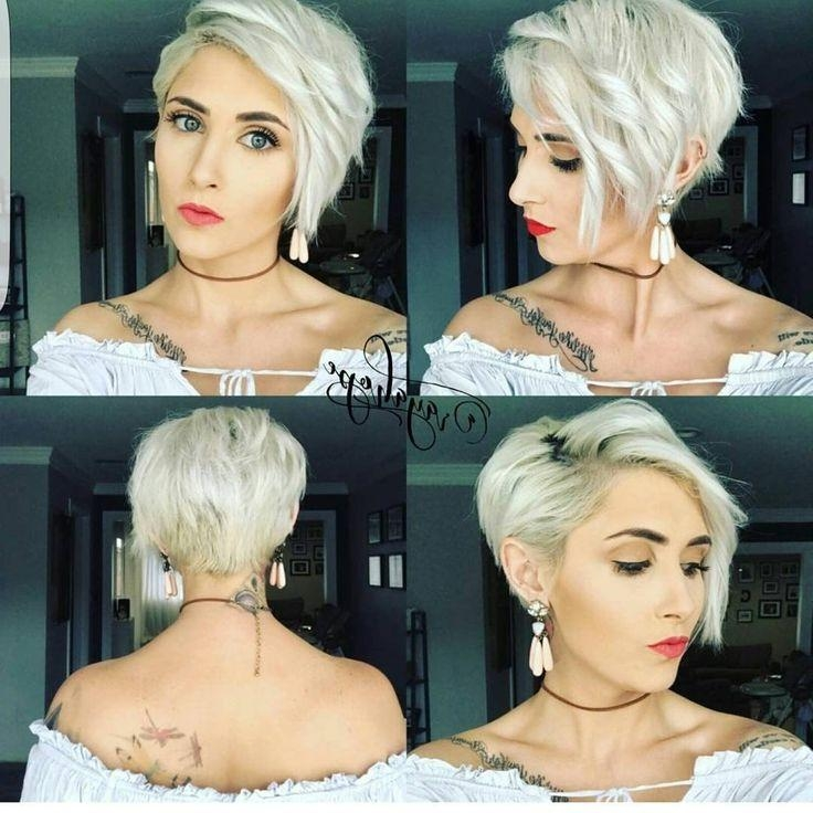 Best 25+ Short Asymmetrical Hairstyles Ideas On Pinterest In One Sided Short Hairstyles (View 12 of 20)