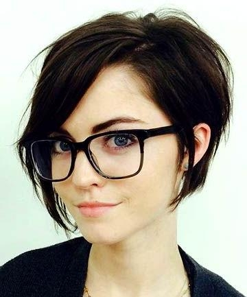 Best 25+ Short Asymmetrical Hairstyles Ideas On Pinterest | Pixie Intended For Edgy Asymmetrical Short Haircuts (View 13 of 20)