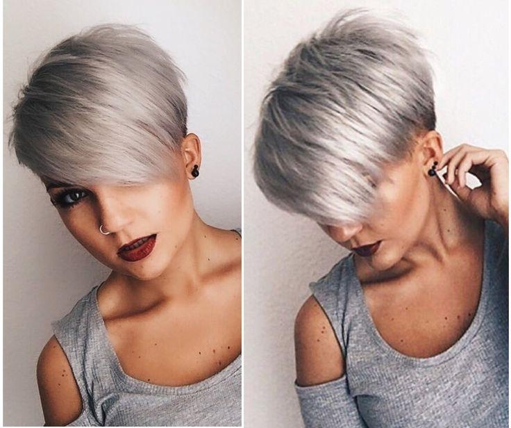 Best 25+ Short Asymmetrical Hairstyles Ideas On Pinterest With Regard To Asymmetrical Short Hairstyles (View 12 of 20)