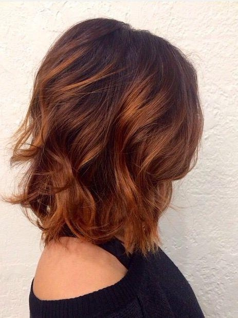 Best 25+ Short Auburn Hair Ideas On Pinterest | Red Highlights Inside Auburn Short Haircuts (View 16 of 20)