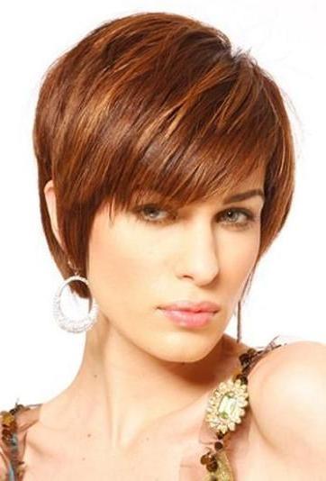 Best 25+ Short Auburn Hair Ideas On Pinterest | Red Highlights Inside Auburn Short Hairstyles (View 10 of 20)