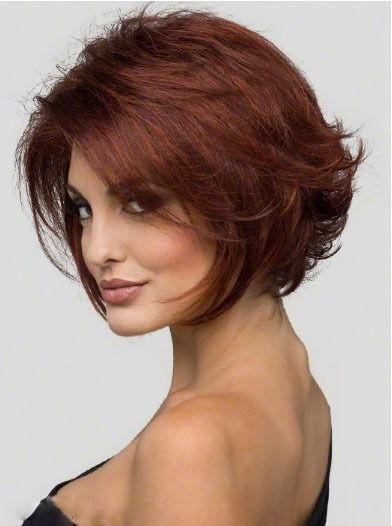 Best 25+ Short Auburn Hair Ideas On Pinterest | Red Highlights Pertaining To Auburn Short Hairstyles (View 11 of 20)