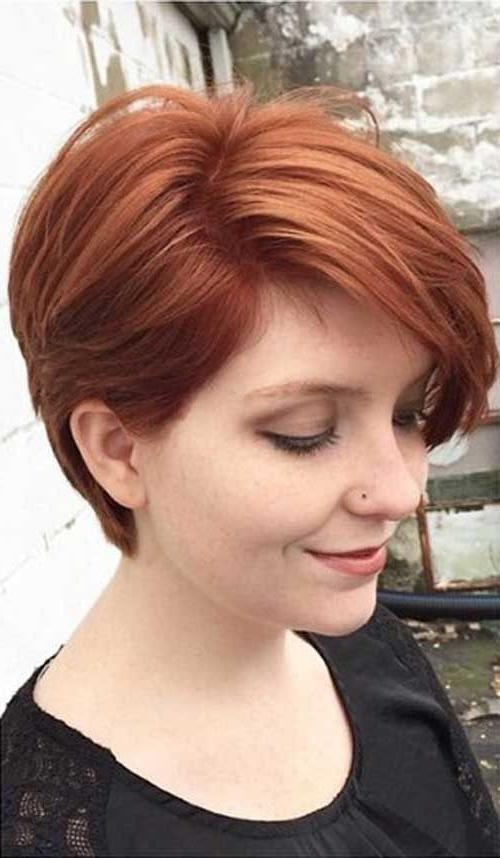Best 25+ Short Auburn Hair Ideas On Pinterest | Red Highlights With Auburn Short Hairstyles (View 2 of 20)