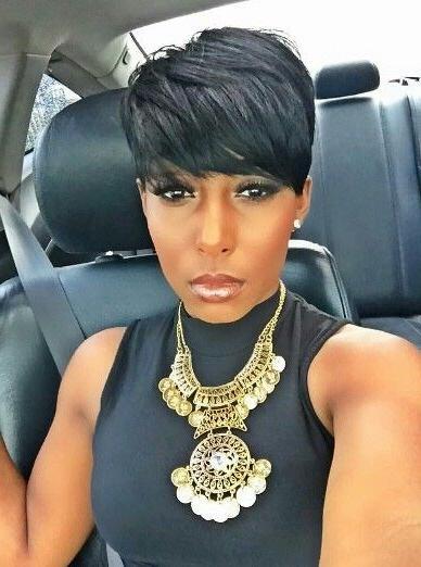 Best 25+ Short Black Hairstyles Ideas On Pinterest | Short Cuts Within Short Haircuts Styles For Black Hair (View 12 of 20)