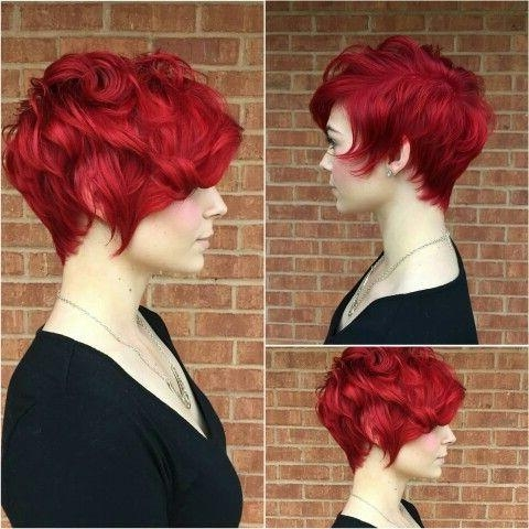 Best 25+ Short Bright Red Hair Ideas On Pinterest | Red Hair With Pertaining To Bright Red Short Hairstyles (View 8 of 20)