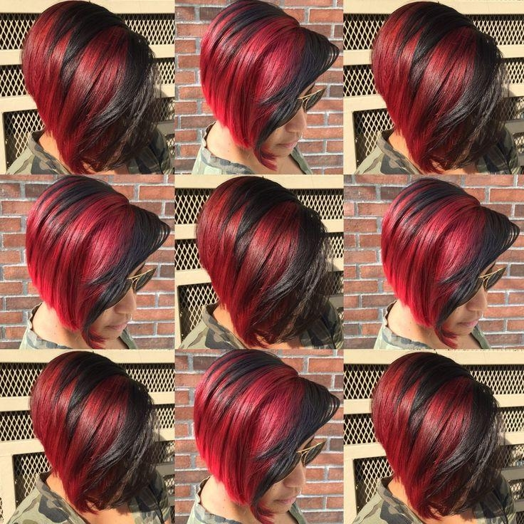 Best 25+ Short Bright Red Hair Ideas On Pinterest | Red Hair With Throughout Bright Red Short Hairstyles (View 9 of 20)