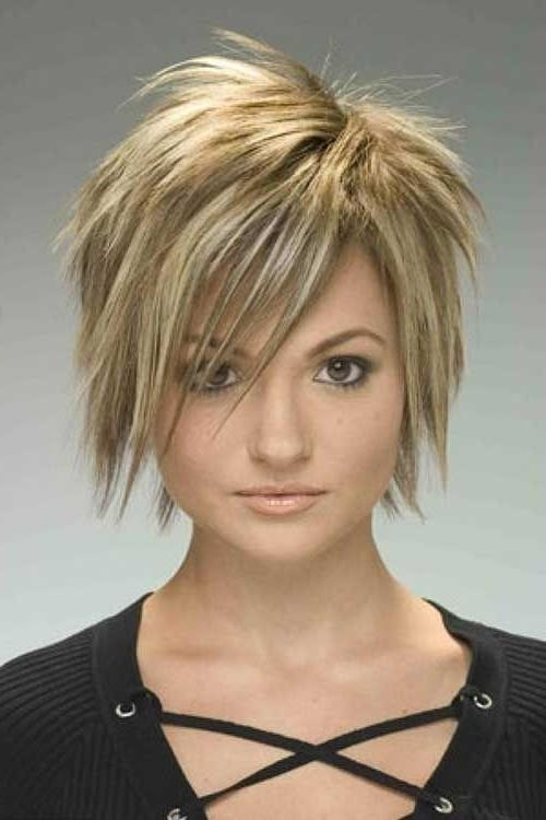 Best 25+ Short Choppy Haircuts Ideas On Pinterest | Choppy Bob For Cute Choppy Shaggy Short Haircuts (View 8 of 20)