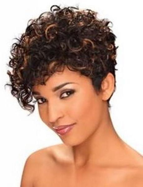 Best 25+ Short Curly Hairstyles Ideas On Pinterest | Hairstyles With Short Haircuts With Curly Hair (View 12 of 20)
